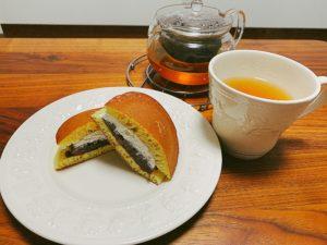 甘いものには紅茶を合わせたい
