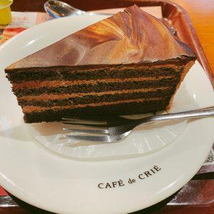 ベルギー産チョコレートケーキ ¥370