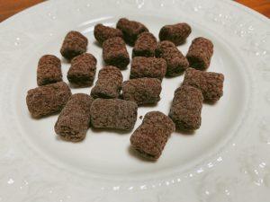 ひとくちサイズのマシュマロチョコレート