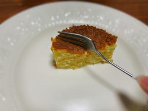 クリーミーで、甘味があるチーズケーキ