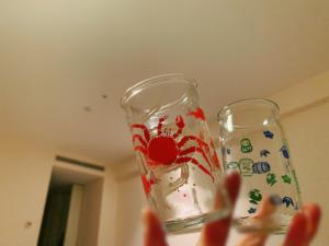 カップ酒はその土地によってデザインが異なって可愛い