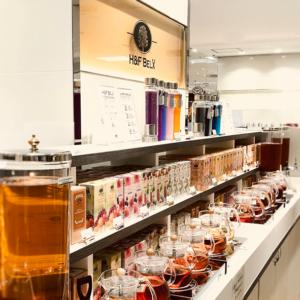 店舗ではたくさんの商品が試飲可能