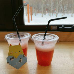 弟子屈町の苺を使ったいちごジュース