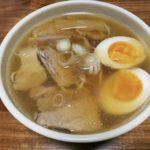 醤油ラーメン(焼豚・煮卵・メンマ・ネギ)603kcal