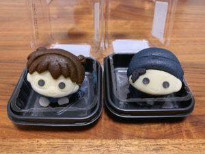 食べマスシリーズは和菓子の練り切りで作られています