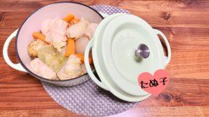 ポトフ風ロールキャベツのレシピ