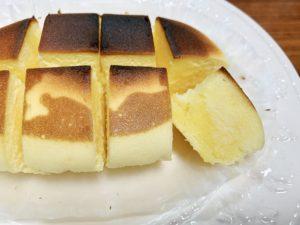 バターがたっぷり染み込んで、まさに背徳的な罪深チーズケーキ。