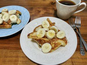 卵なしミルクフレンチトーストのすすめ