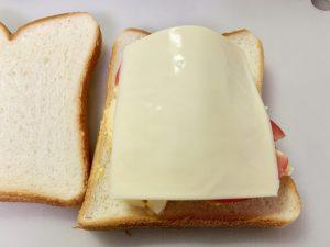 最後にチーズものせてみた