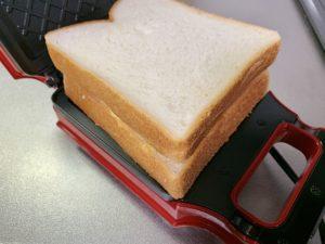 今回使用したのは6枚切りの食パン
