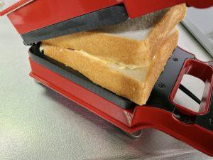 パンや具材の厚さがあっても大丈夫