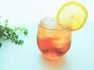 Afternoon Teaの水出しアイスティーシャルドネダージリンと合わせるのがオススメ