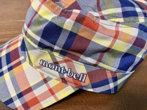 mont-bellの刺繍も可愛い