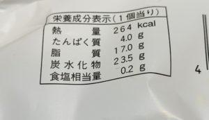 カロリーは267cal。