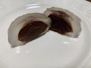 小豆は北海道産小豆を使用しているので上品な味わい