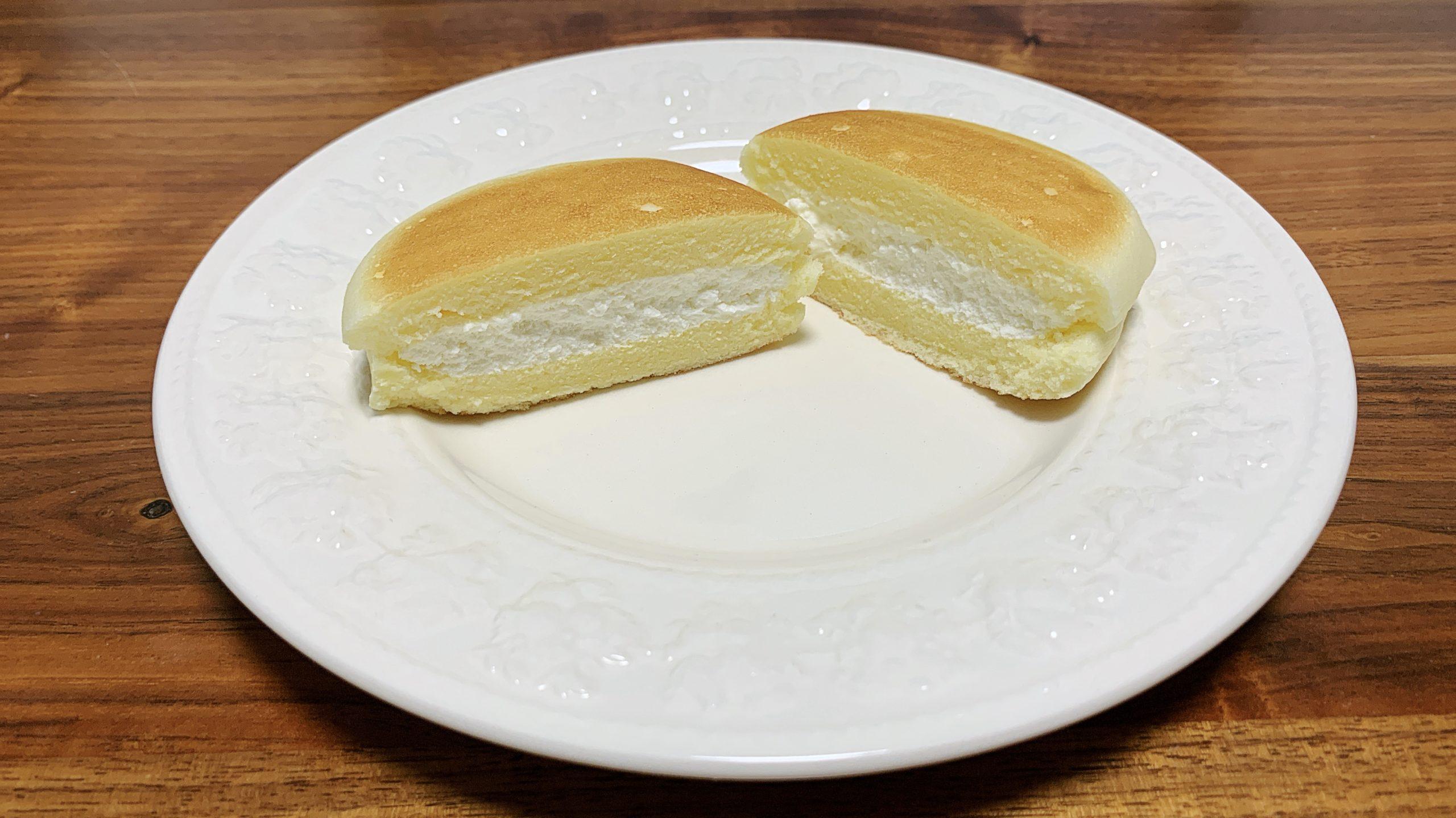 セブンイレブン チーズ 蒸し ケーキ サンド