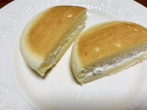 生地にチェダー、ゴーダ、クリームチーズと3種のチーズを使用