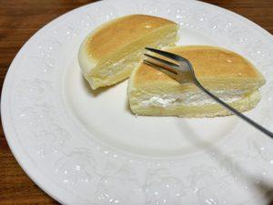 濃厚なスフレチーズケーキのような感じ