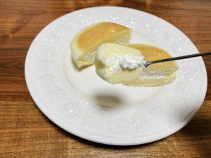 生地とクリーム両方にチーズが使用されているので、チーズの味をしっかり味わえるのが嬉しい