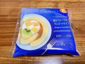 【ファミマ】夏のフルーツロール マンゴートライフル 商品情報