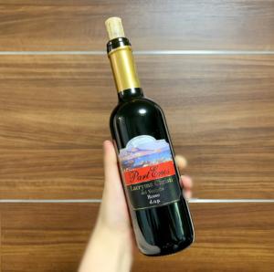 ずいぶん前に行った新婚旅行先のイタリアで購入したLacryma Christi(ラクリマ・クリスティ)。キリストの涙というワインです。