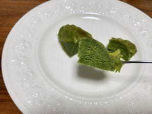 抹茶もスイートポテトも、それぞれの風味を打ち消すことなくちょうど良いバランスで仕上がっています。