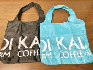 「KALDI COFFEE FARM」というロゴがプリントされているだけ