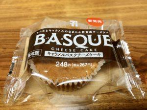 【セブン】キャラメルバスクチーズケーキ