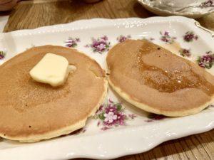 ホットケーキセット(プレーン)税込680円