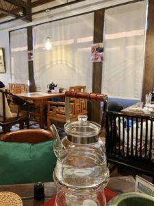 店内は広々として落ち着いた雰囲気なので、ゆったりと中国茶を楽しめるのも嬉しいです。