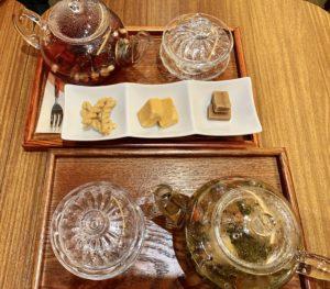 茶音の薬膳茶は、中医学・漢方理論をベースに季節や心身の状態に合わせてブレンドされたお茶