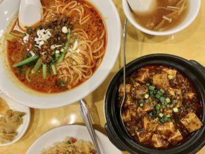 四川麻婆は本格的な四川料理を味わえるのですが、お得なセットもあり、コスパがかなり高い