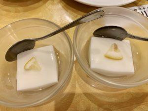 ✔︎杏仁豆腐