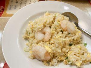 家では作れないパラパラチャーハン。ご飯はパラパラだけど卵はふんわり。