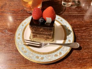 ショコラフレーズセット(税込¥1,200)。