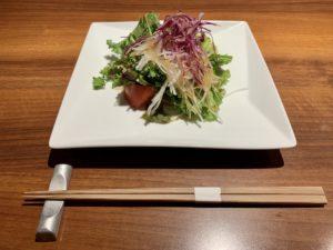 サービスランチのサラダ