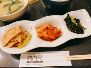 キムチは本場韓国の唐辛子を使って、韓国出身のプロが漬けているそう