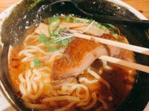 【麺場 浜虎】濃厚ラーメンを実食!柔か鶏叉焼。
