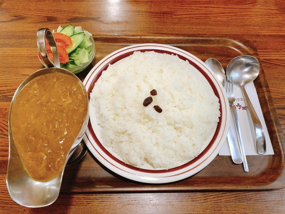 【キャラウェイ】大盛カレーを実食!普通盛りのチーズカレー780円