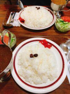 【キャラウェイ】大盛カレーを実食!