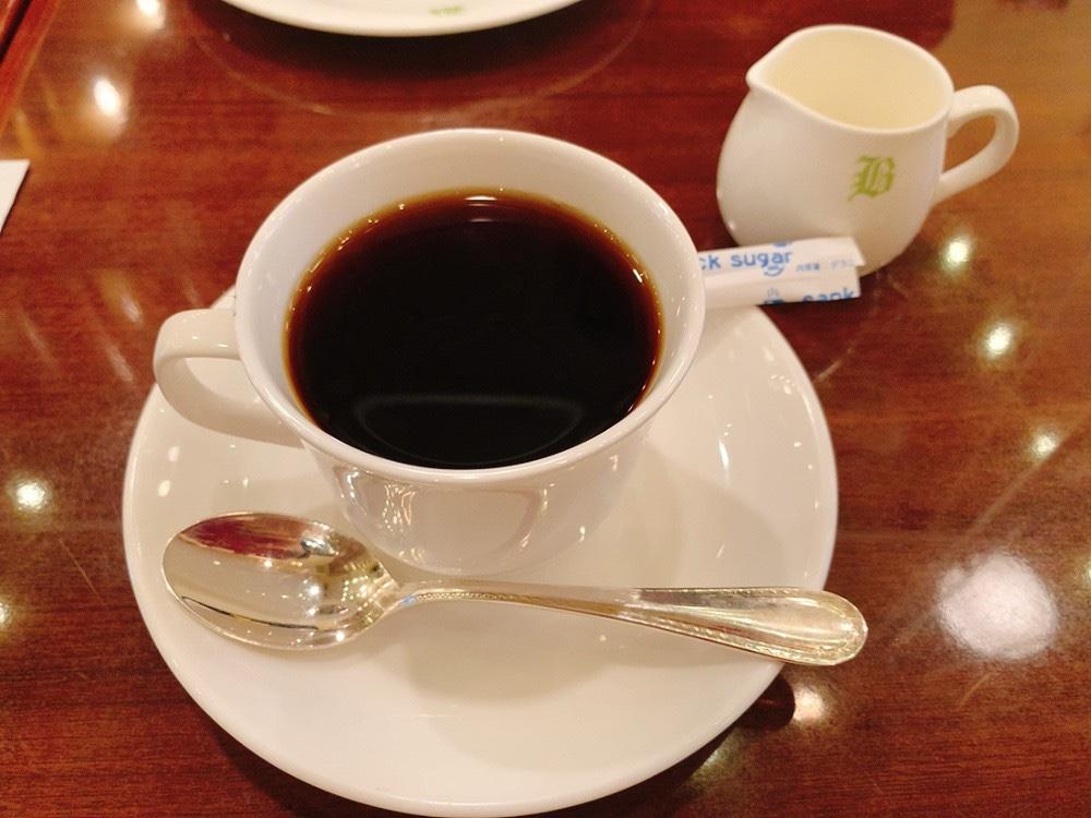 文明堂茶館ル・カフェのコーヒー