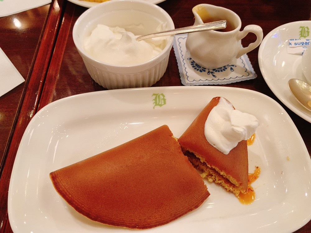 文明堂茶館ル・カフェのパステル