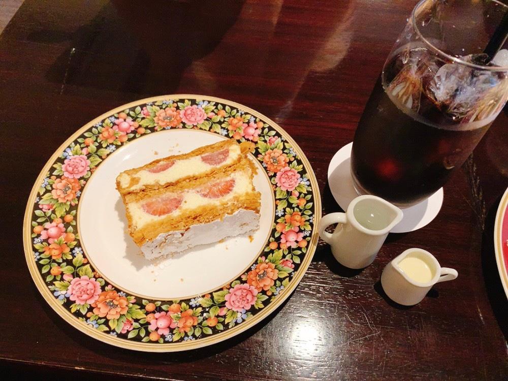 【横浜元町】カフェラミルのケーキを実食!