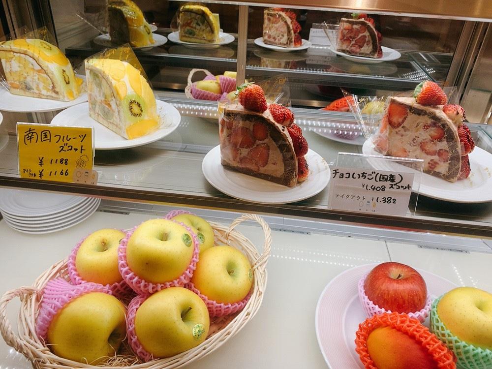 【横浜ランドマーク】果実園リーベルのメニュー